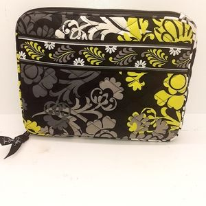 Vera Bradley laptop bag 9 in  wide 6 Long